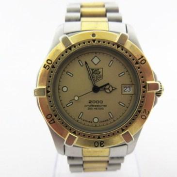 タグホイヤー レディース  腕時計 買取!