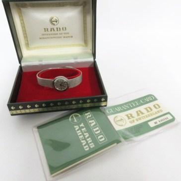 ラドー レディース腕時計 買取!