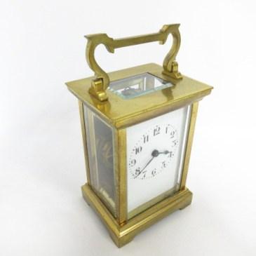 キャリッジクロック 手巻 置時計 買取!