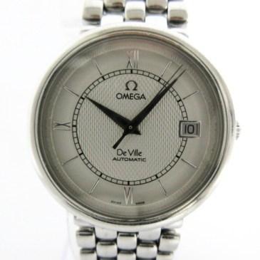 オメガ デビル 7504.31 AT メンズ腕時計 買取!