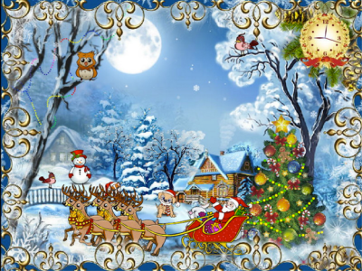 Animated Christmas Wallpapers and Screensavers for Your Desktop - Brand Thunder