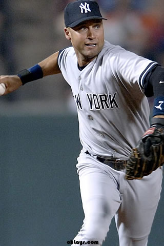 Salute the Captain With Derek Jeter Browser Themes and Wallpaper - Brand Thunder