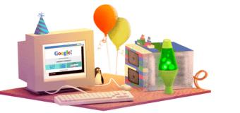 Google skoro dospel oslavuje 17 rokov