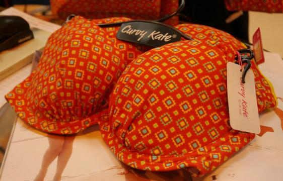 Curvy Kate Swim Casablanca Padded Plunge Saffron