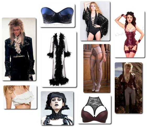David Bowie - Jareth the Goblin King Inspired Lingerie