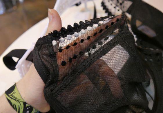Elomi Matilda Plunge Bra in Black Detailing (Elomi AW16)