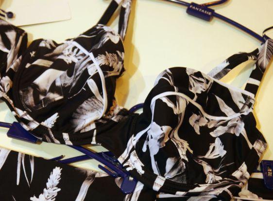 Fantasie Swim Cocoa Island Plunge Balcony Bikini in Black (Fantasie Swim AW16)