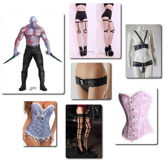Guardians of the Galaxy - Drax Lingerie