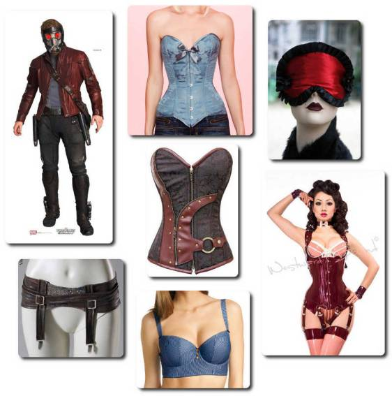 Guardians of the Galaxy - Star Lord Lingerie