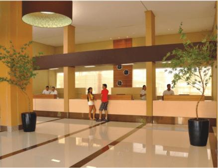Recepção do Hotel Boulevard