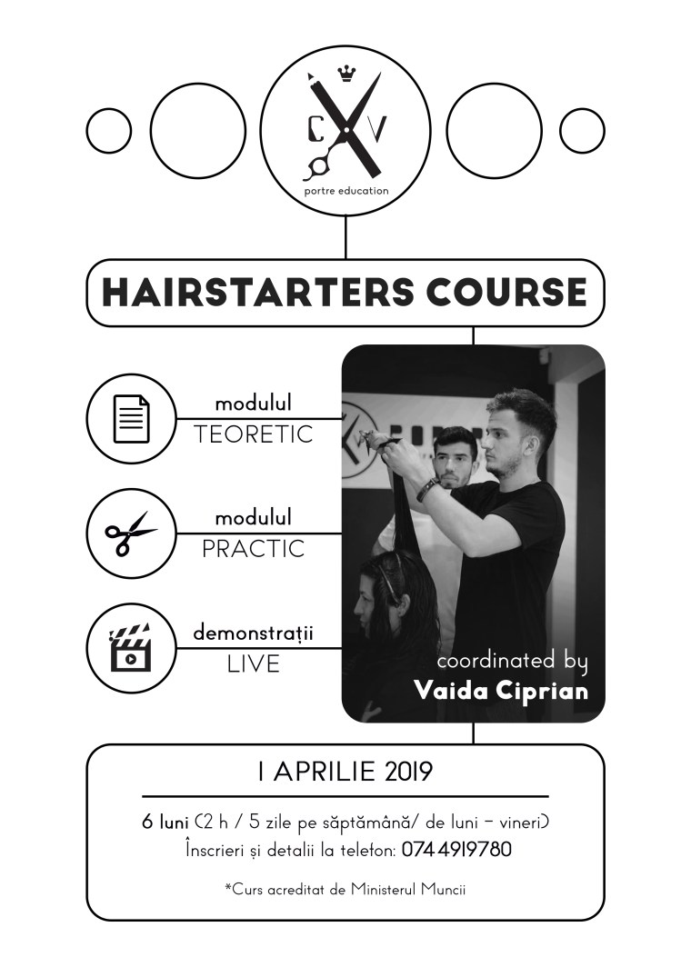 hairstarters course