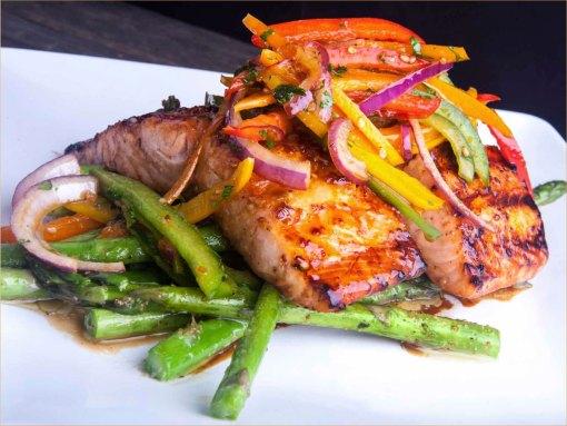 Wok biefreepjes met groente en nasi