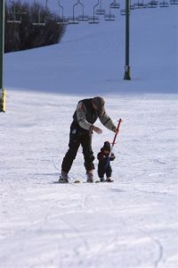 Yes, your child really can ski before he can walk!