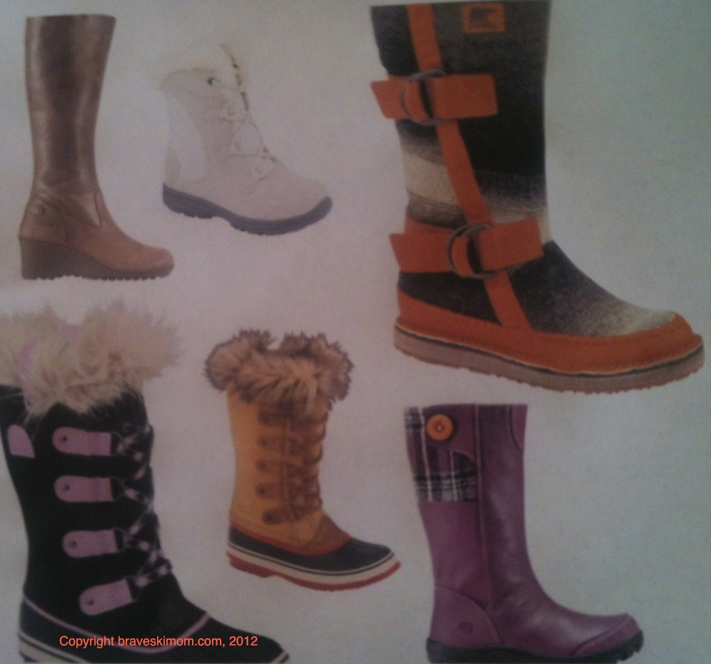 winter boot montage