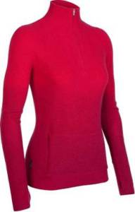aurora half zip womens sweater icebreaker