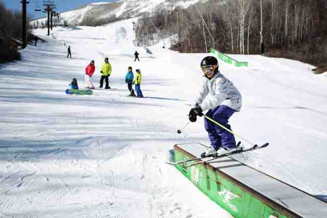 park city mountain resort terrain park