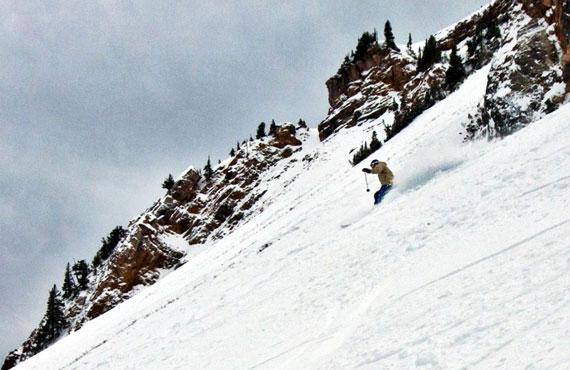 Matt Gibson ripping Alta