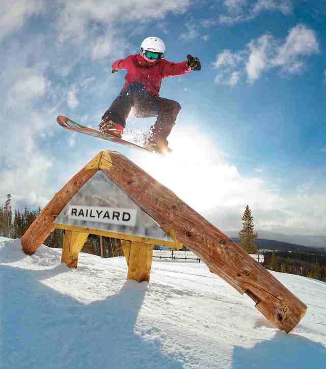 winter park resort terrain park