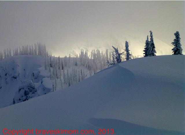 selkirk mountain backcountry powder