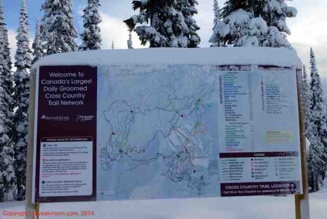 silver star bc nordic trail map