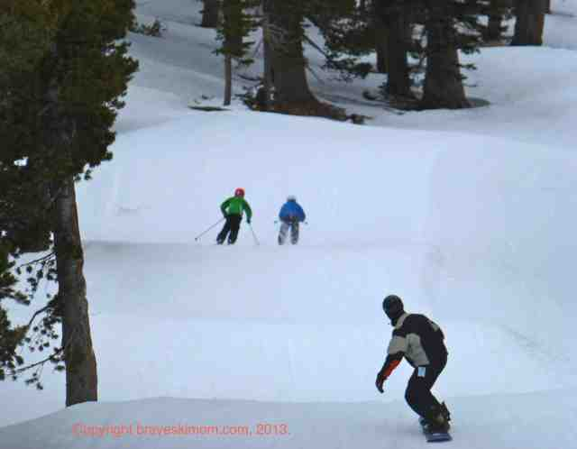 boarder cross course sierra at tahoe