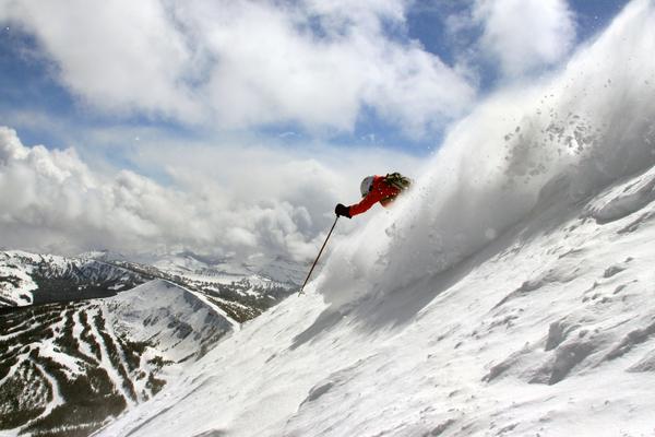 big sky skiing montana