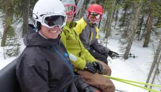 family skiing breckenridge colorado