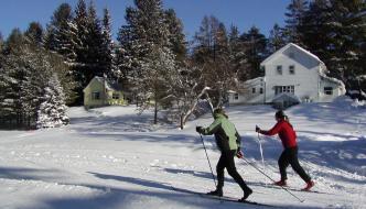 lapland lake cross country ski