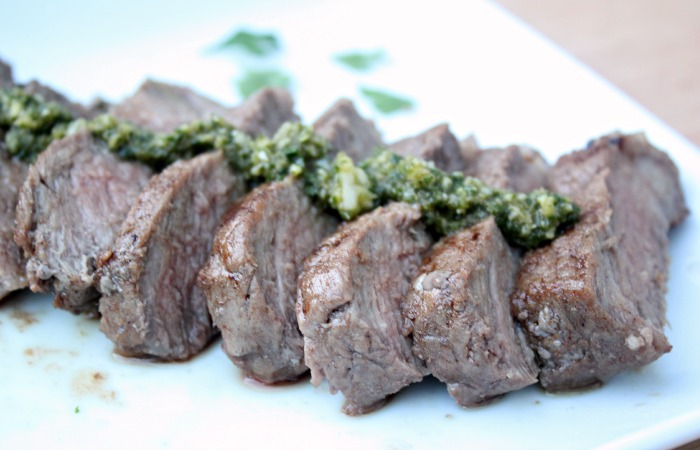 herb topped steak2