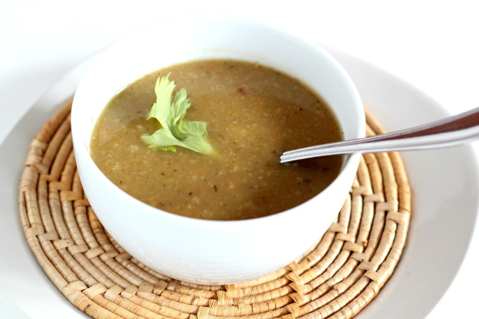 This Potato and Turnip soup is perfect for lunch with a side salad or some gluten free pizza!