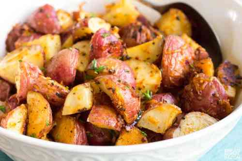 Medium Of Fried Red Potatoes