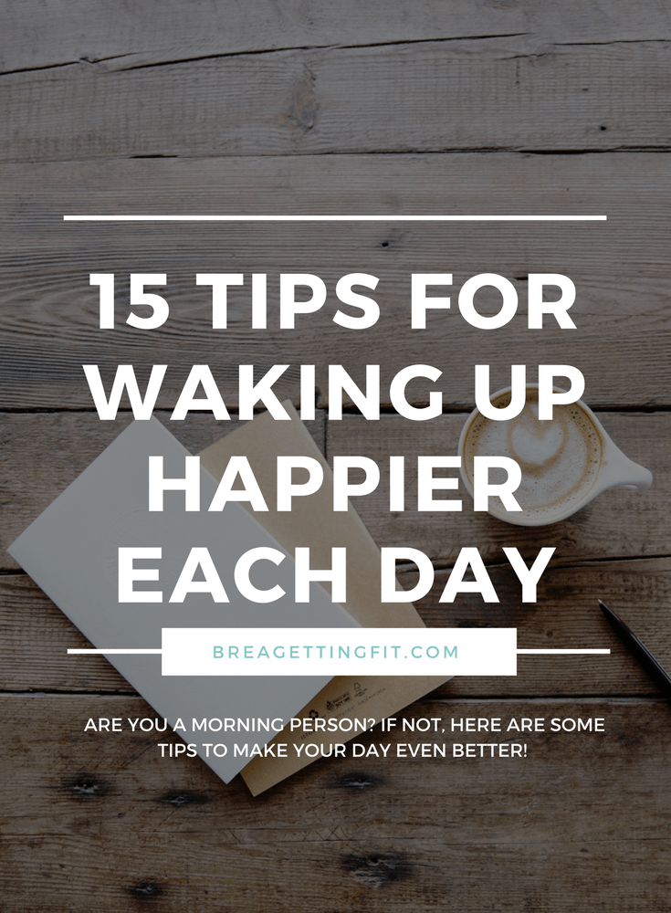 tips for waking up