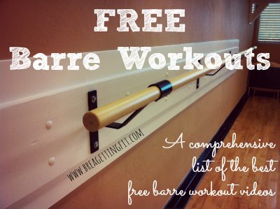 The best free barre workout videos