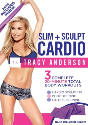 tracy anderson method slim and sculpt cardio workout review!