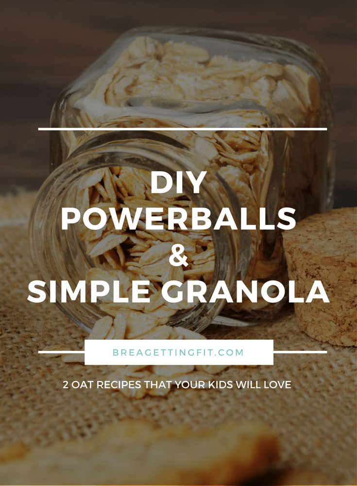 DIY Powerballs & Simple Granola