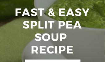 Fast & Easy Split Pea Soup