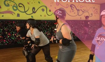 Lower Body Roller Derby Workout