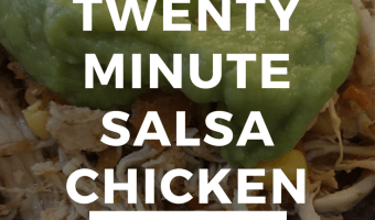20-Minute Salsa Chicken