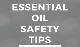 5 Safety Tips for Essential Oil Beginners