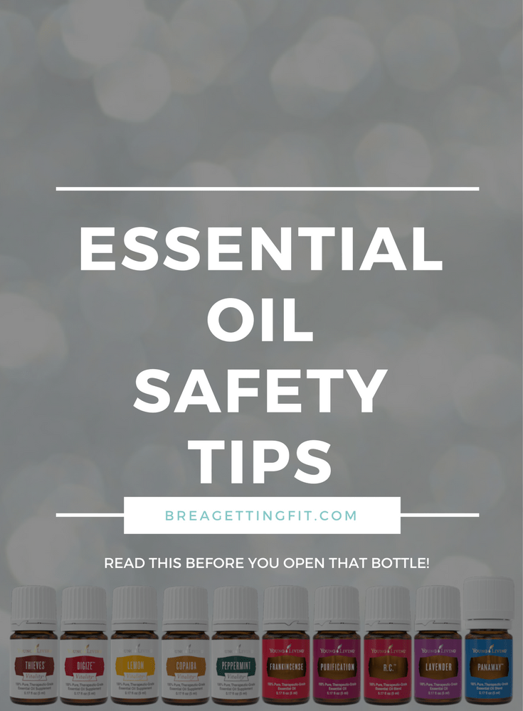 Safety Tips for Essential Oils
