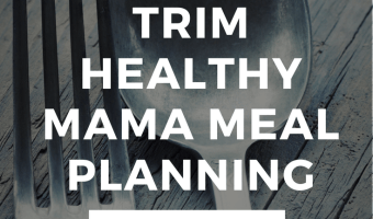 The Trim Healthy Mama Meal Plan Cheat Sheet