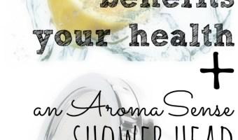9 Ways Vitamin C Benefits Your Health + AromaSense Shower Head Giveaway!