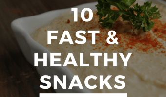 10 Fast Healthy Snacks