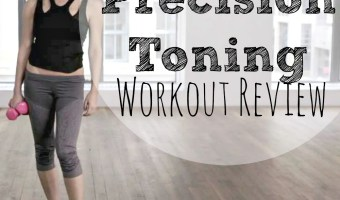 Tracy Anderson Precision Toning | I can't move my arms!!