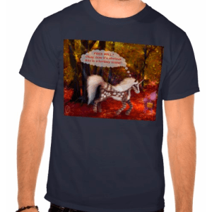 Spotted_Unicorn_FREE_WILL-SHIRT