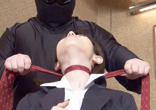 美女のガチ失神を収めた首絞め動画エロい首絞めがぎゅっと詰まった首絞め作品