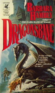Cover of Dragonsbane by Barbara Hambly