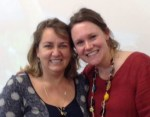 Midwives Michelle Ball and Shawn Walker