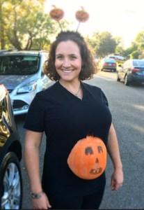Bree Goldstein halloween pregnant