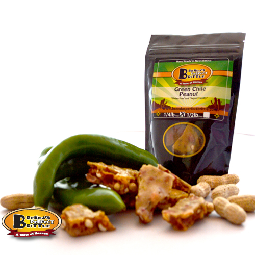 Peanut Green Chile Brittle made with spicy Hatch, New ...